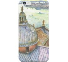 VENICE. View to Grand Canal from Basilica Di San Giorgio Maggiore.  iPhone Case/Skin
