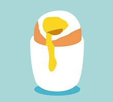 Egg by Saucepot Prints