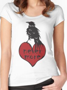Nevermore Raven Women's Fitted Scoop T-Shirt