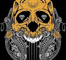 Diamond Skull by viSion Design
