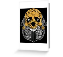 Diamond Skull Greeting Card