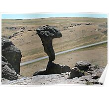 Balanced Rock from behind Poster