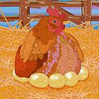 Hen by evisionarts
