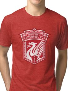 Liverpool FC - Alternate Logo / Badge Tri-blend T-Shirt