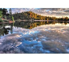 Sky Lake Photographic Print
