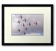 PC-7 Team - Swiss Air Force Framed Print