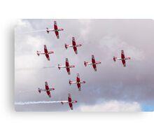 PC-7 Team - Swiss Air Force Canvas Print