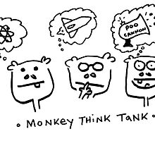 Monkey Think Tank by Ollie Brock