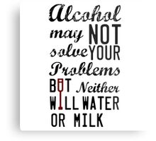 Alcohol... Metal Print