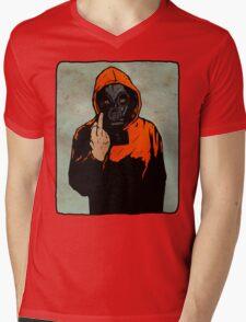 Flipper Mens V-Neck T-Shirt