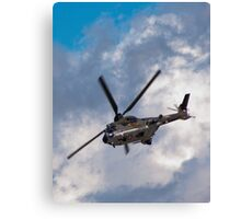 Swiss Air Force Super Puma Canvas Print