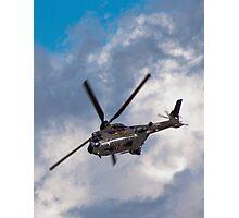 Swiss Air Force Super Puma Photographic Print