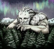 Ymir the Frost Giant by ratatoskas