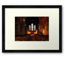 Saint John's Church Chester Framed Print
