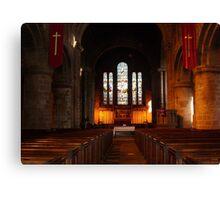 Saint John's Church Chester Canvas Print