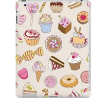 Seamless pattern with sweets iPad Case/Skin