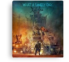Mad Max Fury Road! Canvas Print