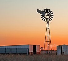 Oakey Sunset 2 by Beth  Wode