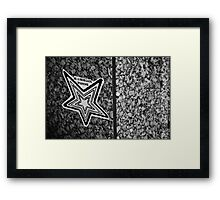 Be A Renegade Of Roanoke. Framed Print