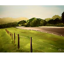 Lime Rock Park 9. Acrylic Painting. Photographic Print