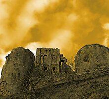 Corfe Castle, Dorset, UK  by buttonpresser