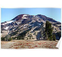 South Sister Mountain, Bend,Oregon  Poster