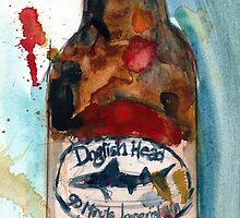 Dogfish Head Brewery - 90 Minute IPA - Beer Art Print by Dorrie  Rifkin