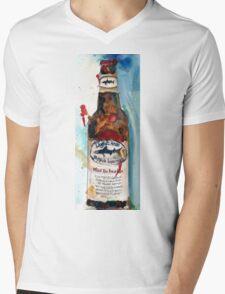 Dogfish Head Brewery - 90 Minute IPA - Beer Art Print Mens V-Neck T-Shirt