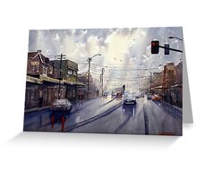 Victoria Road, Gladesville, NSW Greeting Card