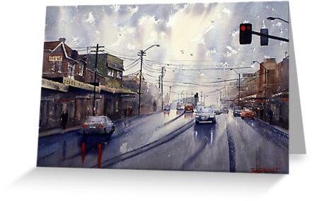 Victoria Road, Gladesville, NSW by Joe Cartwright