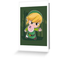 Link Bubles Greeting Card