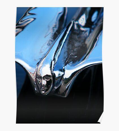 Black Cadillac.... Chrome Thingy Poster