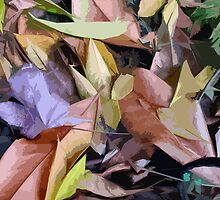 """Autumn carpets of California"" by amarart"