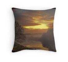 Misty River Wear  Throw Pillow