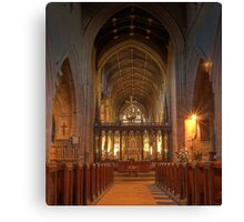 Newcastle Cathedral (HDR using Photomatix) Canvas Print