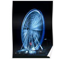 The Big Wheel - South Bank Poster