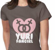 Yuri Fangirl! Womens Fitted T-Shirt
