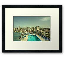 Deauville Vista  Framed Print