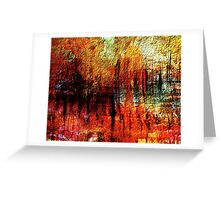 scorched forest Greeting Card