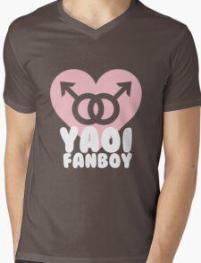 Yaoi Fanboy! Mens V-Neck T-Shirt