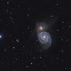 "Spiral Galaxy (M51 ""Whirlpool"") by Igor Chekalin"