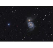 "Spiral Galaxy (M51 ""Whirlpool"") Photographic Print"
