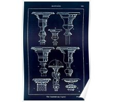 A Handbook Of Ornament With Three Hundred Plates Franz Sales Meyer 1896 0239 Supports Candelabrum Capital Inverted Poster