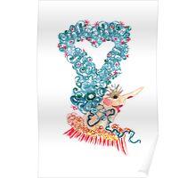 heart hair Poster