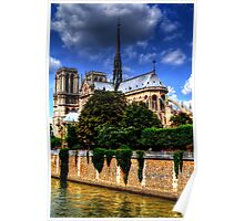 Notre Dame HDR Poster