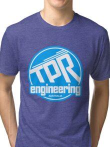 TPR Retro blue Tri-blend T-Shirt