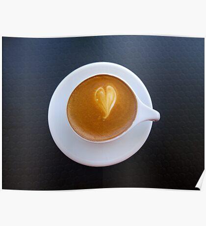 Love Latte Poster