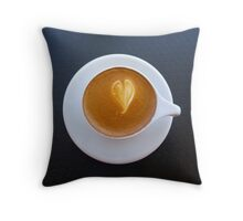 Love Latte Throw Pillow