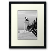 Guarding the entry to the Black River Framed Print