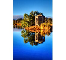 Sunlight on the rotunda, Barossa Valley Photographic Print